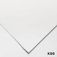 Fabriano : 5 : Papier Aquarelle : 300g : 50x70cm : 20 Feuilles : Grain Fin