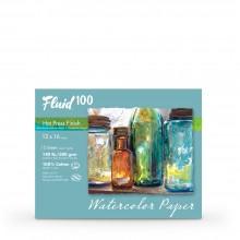 Global : Fluid 100 Easy Block : Papier Aquarelle : 300gsm : 30x40cm : Grain Satiné