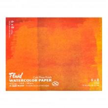 Global : Fluid Easy Bloc : Papier Aquarelle : 300gsm : 16x21cm : Grain Fin