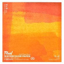 Global : Fluid Easy Bloc : Papier Aquarelle : 300gsm : 8x8in : Grain Fin