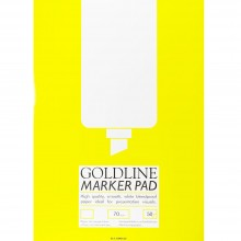 Goldline : Bleedproof Marker Pad : 70gsm : A2 42x59.4cm