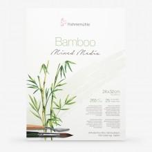 Hahnemuhle : Bamboo : Papier Multi Techniques : Bloc : 24x32cm : 265g : 25 Feuilles