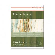 Hahnemuhle : Bamboo : Papier Multi Techniques : Bloc : 36x48cm : 265g : 25 Feuilles