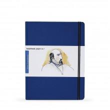 Hand Book Journal Company : Drawing Journal : 10.5x8.25in : Large Portrait : Bleu d'Outremer( Ultramarine Blue)