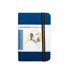 Hand Book Journal Company : Drawing Journal : 5.5x3.5in : Portrait : Bleu d'Outremer( Ultramarine Blue)