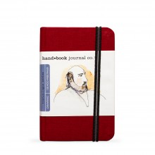 Hand Book Journal Company : Drawing Journal : 5.5x3.5in : Portrait : Rouge Vermilion( Vermilion Red)