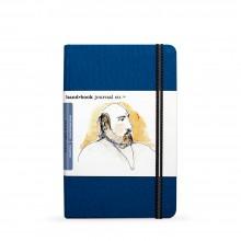 Hand Book Journal Company : Drawing Journal : 8.25x5.5in : Portrait : Bleu d'Outremer( Ultramarine Blue)