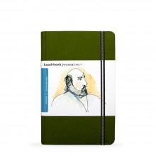 Hand Book Journal Company : Drawing Journal : 8.25x5.5in : Portrait : Vert de Cadmium( Cadmium Green)