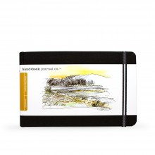 Hand Book Journal Company : Drawing Journal : 5.5x8.25in : Paysage : Noir Ivoire( Ivory Black)
