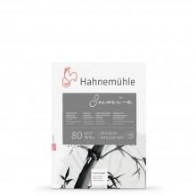 Hahnemuhle : Sumi E Japanese : Bloc Papier pour Encres  80gsm: 24x32cm : 20 Feuilles