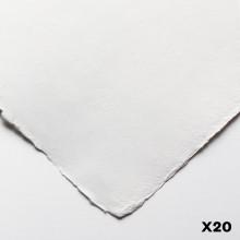 Jackson's : Eco Papier : Surface Lisse / Satiné : 140lb : 38x55cm : 20 Demi- Feuilles