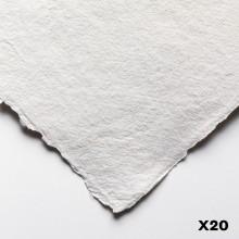 Jackson's : Eco Papier : A Très Fort Grammage : 200lb :30x40cm : 20 Quart de Feuilles
