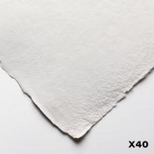 Jackson's : Eco Papier : Surface Lisse / Satiné : 200lb :30x40cm : 40 Quart de Feuilles 15 X11in