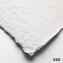 Jackson's : Eco Papier : A Très Fort Grammage : 560lb : 56x76cm : 20 full Feuilles