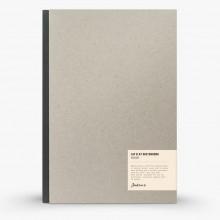 Jackson's : Lay-Plat Couverture Rigide Cahier de Croquis : 100g : 72 Feuilles : A4 : Portrait