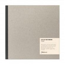 Jackson's : Lay-Plat Couverture Rigide Cahier de Croquis : 100g : 72 Feuilles : 21x21cm : Square