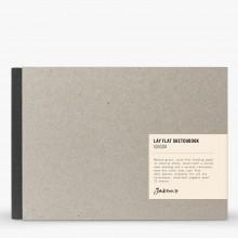 Jackson's : Lay-Plat Couverture Rigide Cahier de Croquis : 100g : 72 Feuilles : A5 : Paysage