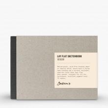 Jackson's : Lay-Plat Couverture Rigide Cahier de Croquis : 100g : 72 Feuilles : 15x12cm : Paysage