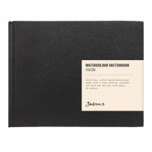 Jackson's :Cahier de Croquis Aquarelle : 160gsm : 48 Feuilles : 17x11.5cm : Paysage