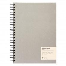 Jackson's :Cahier de Croquis à Spirale: 130gsm : 55 Feuilles : A4 : Portrait
