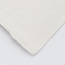 Khadi :Papier Tissu Blanc : 640 gsm : Grain Torchon : 15x21cm : Lot de 10 Feuilles