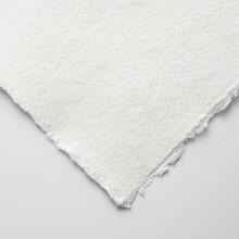 Khadi :Papier Tissu Blanc : 150 gsm : A Moyen Grammage : 11x15cm : Lot de 20 Feuilles