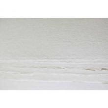 Khadi :Handmade : Papier Chiffon Blanc: 210gsm : Grain Torchon : 56x76cm : 20 Feuilles