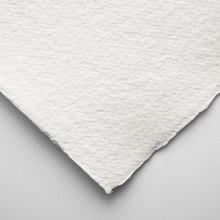 Khadi :Handmade : Papier Chiffon Blanc: 640gsm : Grain Torchon : 56x76cm : 20 Feuilles