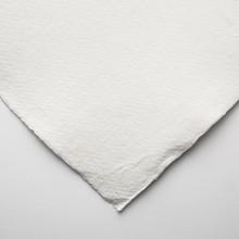 Khadi :Handmade : Papier Chiffon Blanc: 210gsm : Surface Lisse : 56x76cm