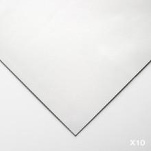 Lenox 100 :Papier Art de Qualité : 250gsm : 56x76cm : Blanc : 10 Feuilles