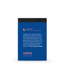 Lenox 100 :Bloc de Papier Coton : 9.5x6.3cm : Echantillon  : 1 Par Commande