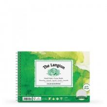 Daler Rowney : Langton : 7x10in : Bloc Papier Aquarelle  : 300g : Grain Fin
