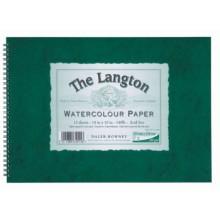 Daler Rowney : Langton : 40x50cm : Bloc Papier Aquarelle: 300g : Grain Fin