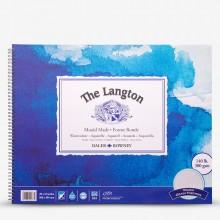 Daler Rowney : Langton : 40x50cm : Bloc Papier Aquarelle  : 300g : Grain Torchon