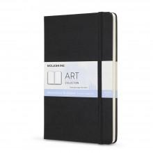 Moleskine : Art Collection : Cahier de Croquis:  Aquarelle : 200g : Couverture Rigide : 13x21cm