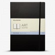 Moleskine :Cahier de Croquis : 165gsm : Couverture Rigide : 96 pages : A4 : Noir
