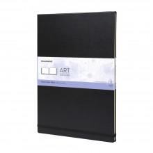 Moleskine :Watercolour Album : 200g : Hard Cover : 60 pages : A3 : Black