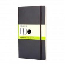 Moleskine :Cahier :  Page Blanche : 9x14cm : Couverture Rigide : 192 pages Black