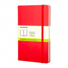 Moleskine :Cahier :  Page Blanche : 9x14cm : Couverture Rigide : 192 pages Red