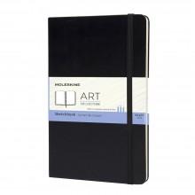 Moleskine :Cahier de Croquis : 165gsm : 13x21cm : Couverture Rigide : 104 pages : Noir