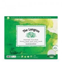 Daler Rowney : Langton : 40x50cm : Bloc Papier Aquarelle: 140lb : Grain Fin