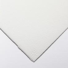 Saunders Waterford : 56x76cm :  425g : High White : 1 Feuille : Grain Fin