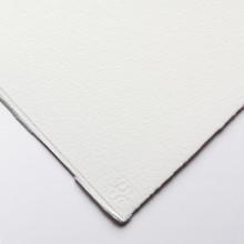 Saunders Waterford : 56x76cm :  425g : High White : 1 Feuille : Grain Torchon