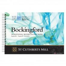 Bockingford : Papier Aquarelle : Spiral Pad : 300gsm : A3 : Grain Fin