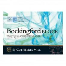 Bockingford : Bloc : 25x35cm : 300g : 12 Feuilles : Grain Fin