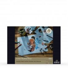 Royal Talens : Rembrandt : Toned Paper Pad : 180gsm : 50 Sheets : A3 : Mystical Blue