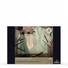 Royal Talens : Rembrandt : Toned Paper Pad : 180gsm : 50 Sheets : A3 : Verona Green