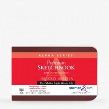 Stillman & Birn : Alpha : Couverture Souple : Cahier de Croquis : 150g : A Grammage Moyen : 14x9cm : Paysage