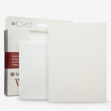 Strathmore : Aquarelle cartes 5X6.875 pouces blanc paquet de 10 cartes