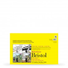 Strathmore : 300 Series : Sequential Art Bristol Pad : 270gsm : 24 Sheets : 11x17in : Vellum
